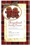 2011-2012 Gingerbread Holiday Concert
