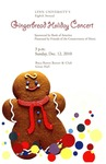 2010-2011 Gingerbread Holiday Concert