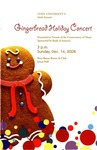 2008-2009 Gingerbread Holiday Concert