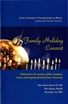2006-2007 Family Holiday Concert by Lynn University Philharmonia, Albert George Schram, and John Pickering