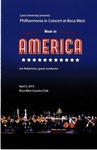 "2012-2013 Philharmonia in Concert at Boca West - ""Made in America"" by Lynn University Philharmonia and Jon Robertson"