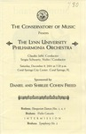 2001-2002 The Lynn University Philharmonia Orchestra by Lynn University Philharmonia, Claudio Jaffé, and Sergiu Schwartz