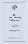 2000-2001 The Lynn University Philharmonia by Lynn University Philharmonia and Arthur Weisberg