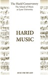 1999-2000 The Harid Philharmonia of Lynn University