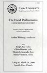 1999-2000 The Harid Philharmonia - Concerto Concert