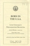 2000-2001 Born in the U.S.A. by Lynn University Philharmonia, Arthur Weisberg, and Shoko Hino