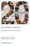 2019-2020 Philharmonia No. 4