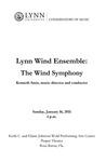 2010-2011 Lynn University Wind Ensemble - The Wind Symphony