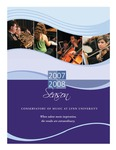 2007-2008 Lynn University Wind Ensemble by Lynn University Wind Ensemble, Marc Reese, and Aaron Mahnken