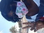 Christelle Mehu Deerfield Beach COVID-19 Selfie by Christelle Mehu