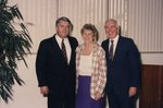 J. P. Bulduc with Helen and Don Ross by Lynn University