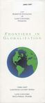 1996-1997: Dively Frontiers in Globalization Lecture Program by Lynn University