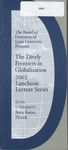 2002: Dively Frontiers in Globalization Lecture Program by Lynn University