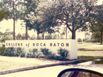 College of Boca Raton Entrance by College of Boca Raton