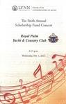 2011-2012 Scholarship Fund Concert at Royal Palm Yacht & Club
