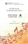 2011-2012 Scholarship Fund Concert at Indian Springs Country Club