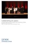 2019-2020 Celebrating 20 years by Friends of the Consevatory, Guzal Isametdinova, Lydia Roth, Gerhardt Arosemena Ott, Dunia Andreu, Ting An Lee, Dennis Pearson, Feruza Dadabaeva, Askar Salimdjanov, David Brill, Tom Wong, Georgiy Khokhlov, Sharon Villegas, and Mario Zelaya