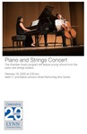 2019-2020 Piano and Strings Concert