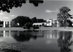Lakeside View of Betsy H. Freiburger Hall by Lynn University