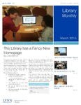 Library Monthly - March 2015 by Lynn Library Staff