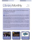 Library Monthly - March 2016 by Lynn Library Staff