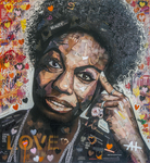 Nina Simone Collage by Andrew Hirst