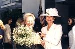 Christine Lynn Smiling with Kathleen Clunan by Lynn University