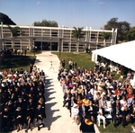 Attendees at the Lynn Library Dedication by Lynn University