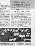 Marymount Progress Report - Spring 1963