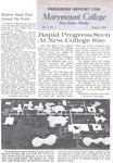 Marymount Progress Report - Spring 1963 by Marymount College