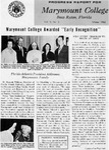 Marymount College Progress Report - Winter 1965