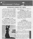 Marymount College Progress Report - Fall 1966 by Marymount College