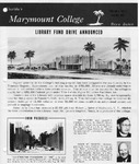 Marymount College Progress Report - Winter 1967 by Marymount College