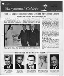 Marymount College Progress Report - Spring 1967