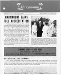 Marymount College Progress Report - Winter 1968 by Marymount College