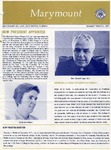 Marymount College Progress Report - Fall 1970 by Marymount College