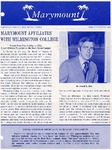 Marymount College Progress Report - Spring 1972 by Marymount College