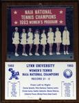 1993 NAIA Women's Tennis National Champions by Lynn University