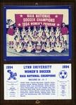 1994 NAIA Women's Soccer National Champions by Lynn University