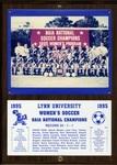 1995 NAIA Women's Soccer National Champions by Lynn University
