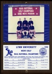 1996 NAIA Men's Golf National Champions by Lynn University