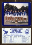 1997 NCAA Division II Women's Tennis National Champions by Lynn University