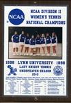 1998 NCAA Division II Women's Tennis National Champions by Lynn University