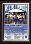 2014 NCAA Division II Women's Golf National Champions by Lynn University