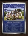 2018 NCAA Division II Men's Golf National Champions by Lynn University