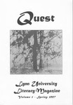 Quest [Spring 1997]