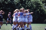 Women's Soccer Team Hugs on the Field by College of Boca Raton