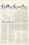 The Over-Ground Press: November 4, 1970 by The Over-Ground Press Staff