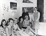 Marymount Students Socialize in Dorm