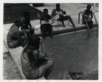 Marymount Students Sunning at the Pool by Norman L. Park